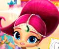 Colorindo o livro mundo das pequenas princesas
