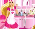 Ajude a Barbie na Limpeza da Casa para a Festa