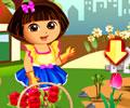 O amor de Dora pela flores