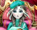 Anna de Frozen ficou doente do frio