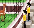 Atendente no Zoológico