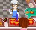 Barbi's Bakery - Jogo de servir lanches