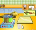Cooking Show Breadrolls - Cozinheira