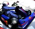 Corrida de kart Red Bull