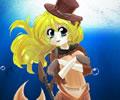 Cowgirl Mermaid - Vaqueira sereia