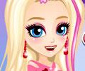 Cuidando da beleza da Barbie
