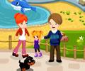 Familia no Zoológico