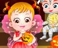 A festa de halloween da Baby Hazel