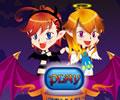 Halloween Devil Twins - Moda dia das bruxas