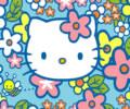 Hello Kitty - Abelhas no jardim