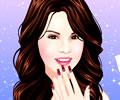 Manicure Perfeita em Selena Gomez