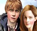 Novo Look de Rubert Grint e Emma Watson
