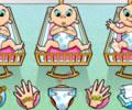 Terrible Triplets - Cuide dos bebês trigemeos