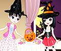 Vestida para a Festa Doce de Halloween