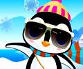 Vestindo o Pequeno Pinguim
