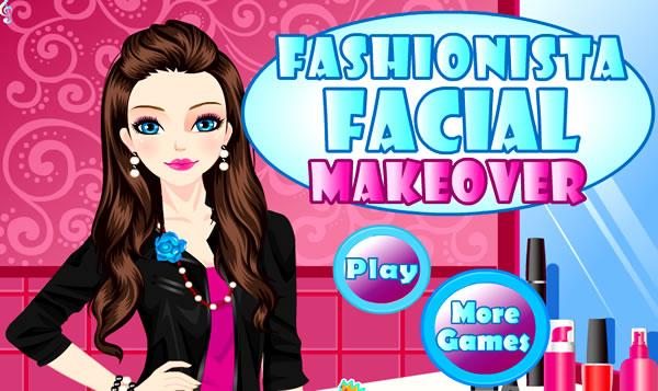 Abusando da maquiagem facial
