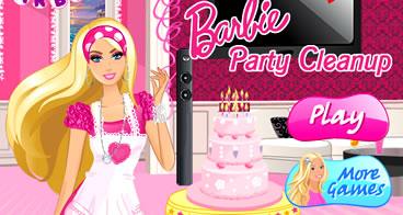 Ajude a Barbie a Limpar a Casa