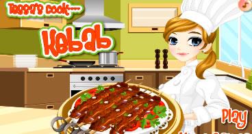 Aprendendo a preparar Kebab