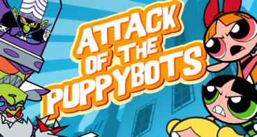 Attack of the Puppybots - Jogos meninas super poderosas