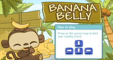 Banana Belly - Jogo sequência teclas