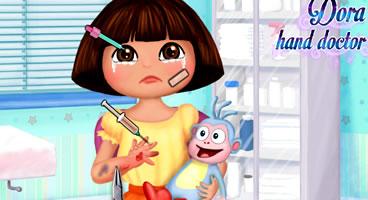 Curando os machucados de Dora