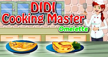 Didi ensinando a fazer omeletes
