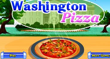 Fazendo a pizza para o presidente