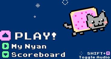 O gato Nyan perdido no espaço