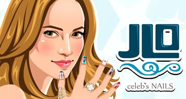 Manicure em Jennifer Lopez