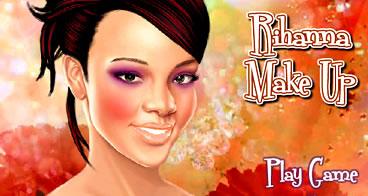 Maquiando a Bela Rihanna