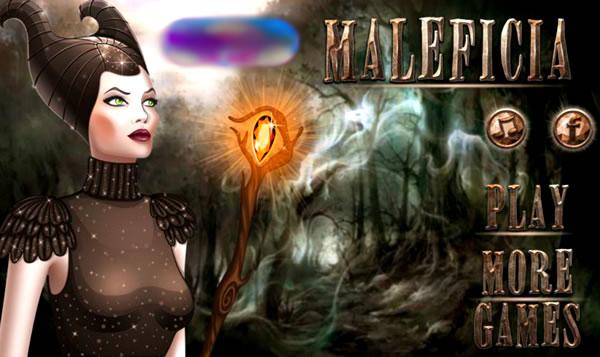 Maquiando e vestindo Malévola