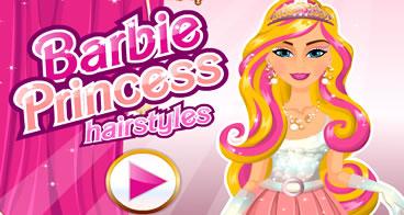 Novo Estilo de Cabelo para a Princesa Barbie
