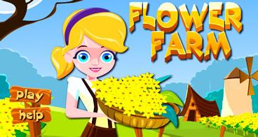 Plantando Flores na Fazenda