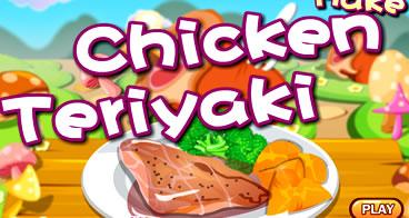 Preparando um delicioso frango Teriyaki