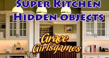Procurando os objetos escondidos na cozinha