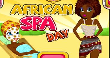 Spa especial para as africanas