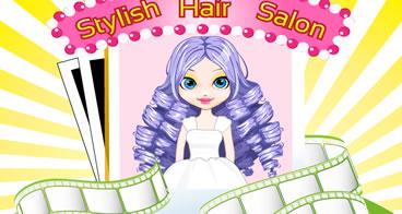 Stylish Hair Salon - Fazendo penteados