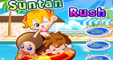 Suntan Rush - Jogo de bronzeamento