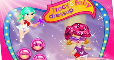 Tracy e Fairy Dressup - Vista baby Bratz