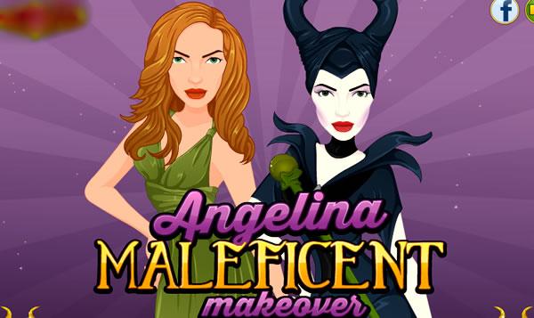 Transformando Angelina Jolie na Malévola
