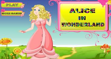 Vestindo Alice no País das Maravilhas