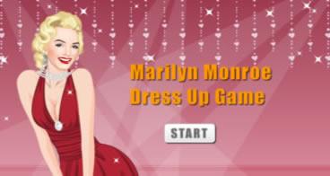 Vestindo Marilyn Monroe