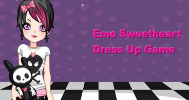 Vestindo a Namorada Emo