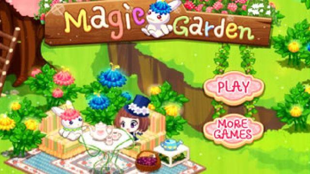 Decorando o Jardim Mágico